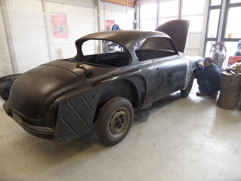 Auto Hunstock Oldtimer Restauration Wartburg 311 Coupe