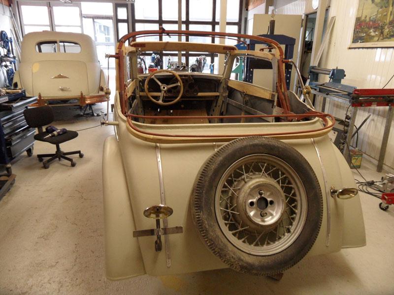 auto hunstock oldtimer restauration dkw f5 4 sitzer cabrio. Black Bedroom Furniture Sets. Home Design Ideas