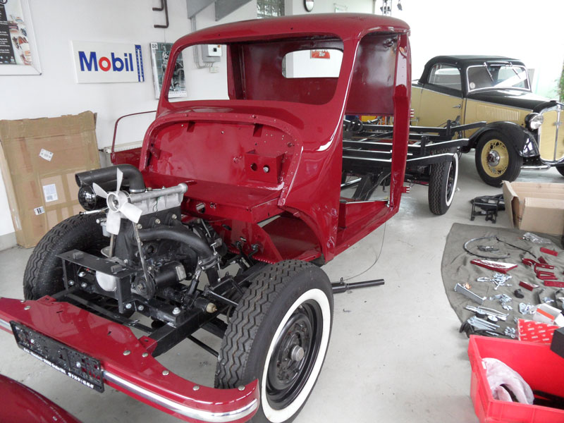 Auto Hunstock - Oldtimer Restauration - Framo V901 ...