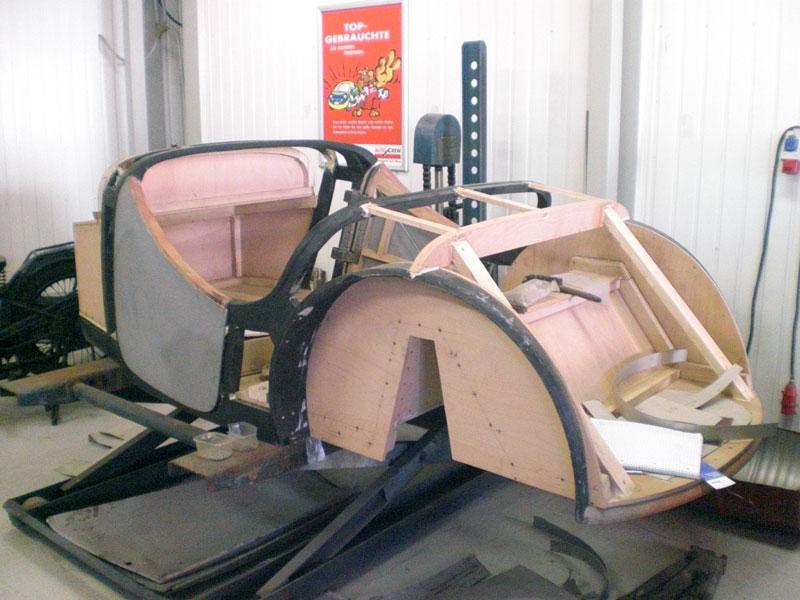 Auto Hunstock Oldtimer Restauration Dkw F5 Roadster