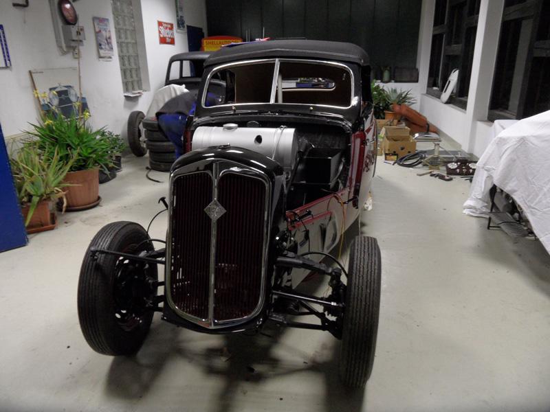 Auto Hunstock Oldtimer Restauration Ifa F8 Cabrio