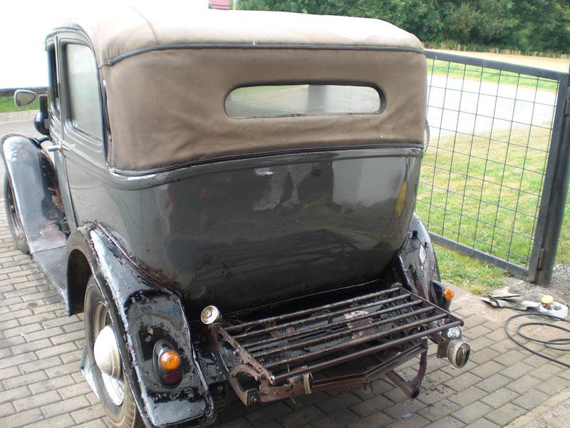 Auto Hunstock Oldtimer Restauration Opel P4 Cabrio