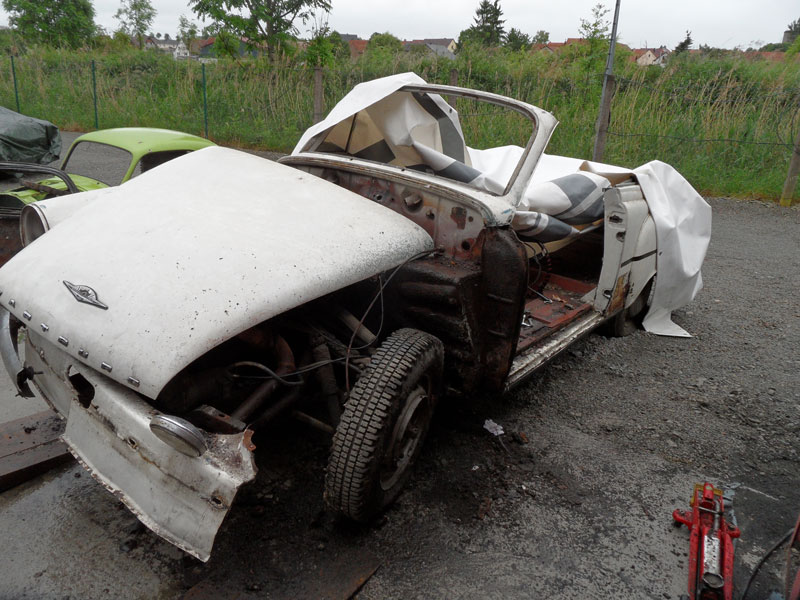 Auto Hunstock Oldtimer Restauration Wartburg 311 Cabrio